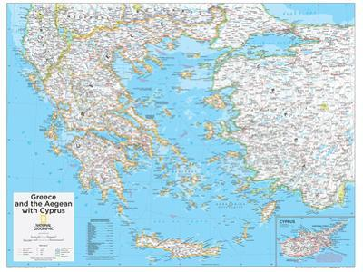 2014 Greece - National Geographic Atlas of the World, 10th Edition