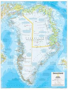 2014 Greenland - National Geographic Atlas of the World, 10th Edition