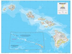 2014 Hawaii - National Geographic Atlas of the World, 10th Edition