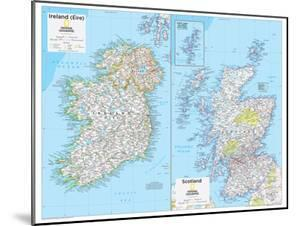 2014 Ireland and Scotland - National Geographic Atlas of the World, 10th Edition