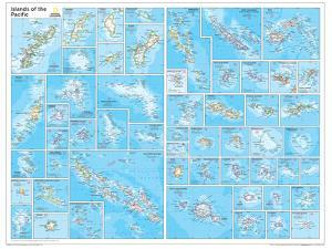 2014 Islands of the Pacific - National Geographic Atlas of the World, 10th Edition