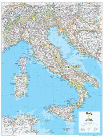 2014 Italy National Geographic Atlas Of The World 10th Edition