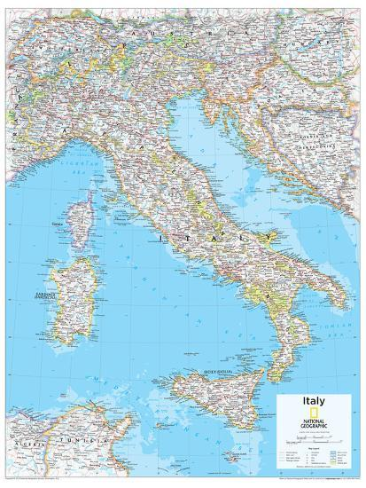 Geographic Map Of World.2014 Italy National Geographic Atlas Of The World 10th Edition