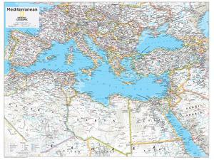 2014 Mediterranean Region - National Geographic Atlas of the World, 10th Edition