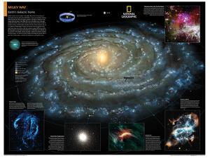 2014 Milky Way - National Geographic Atlas of the World, 10th Edition
