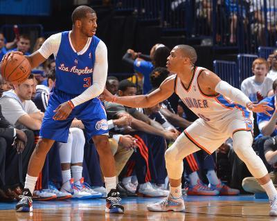 2014 NBA Playoffs Game 2: May 7, Los Angeles Clippers vs Oklahoma City Thunder - Chris Paul-Jesse D. Garrabrant-Photo