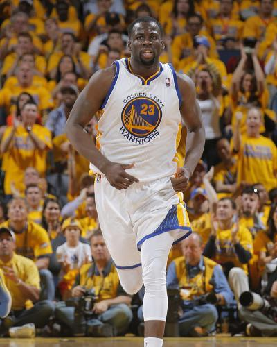 2014 NBA Playoffs Game 6: May 1, Los Angeles Clippers vs Golden State Warriors - Draymond Green-Rocky Widner-Photo