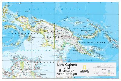 2014 New Guinea - National Geographic Atlas of the World, 10th Edition-National Geographic Maps-Poster