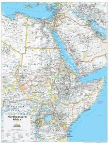 2014 Northeastern Africa - National Geographic Atlas of the World, 10th Edition