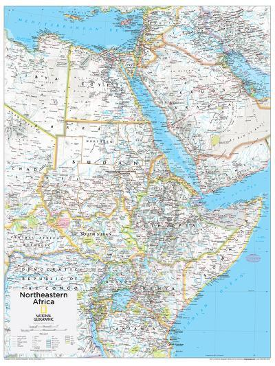 2014 Northeastern Africa - National Geographic Atlas of the World, 10th Edition--Art Print