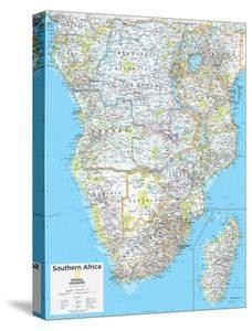 Maps of africa canvas artwork for sale posters and prints at art 2014 southern africa national geographic atlas of the world 10th edition gumiabroncs Images