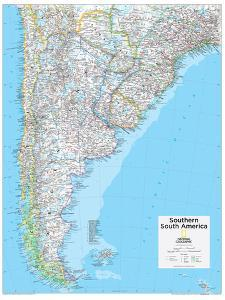 2014 Southern South America - National Geographic Atlas of the World, 10th Edition