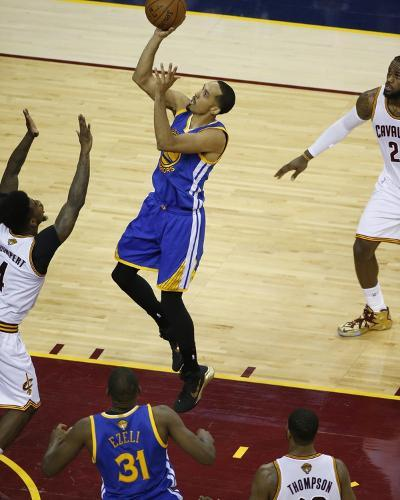 2015 NBA Finals - Game Six-Gregory Shamus-Photo