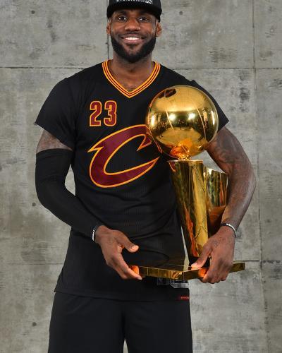 2016 NBA Finals - Post Game Trophy Shoot-Jesse D Garrabrant-Photo