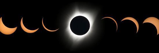 2017 Total Solar Eclipse, Composite Image--Photographic Print