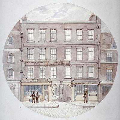 22 and 23 Farringdon Street, City of London, C1855-James Findlay-Giclee Print