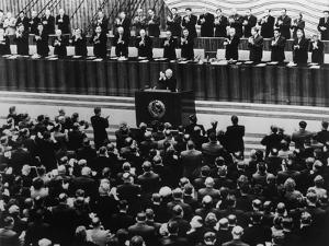 22nd Communist Party Congress in Moscow, Oct. 17, 1961