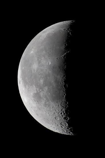 23 Day Old Waning Moon--Photographic Print