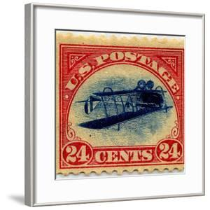 24-cent Curtis Jenny Invert Stamp
