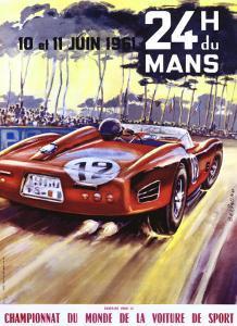 24 Hour du le Mans Ferrari GP