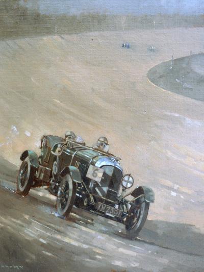 24 Hour Race at Brooklands, 1929-Peter Miller-Giclee Print
