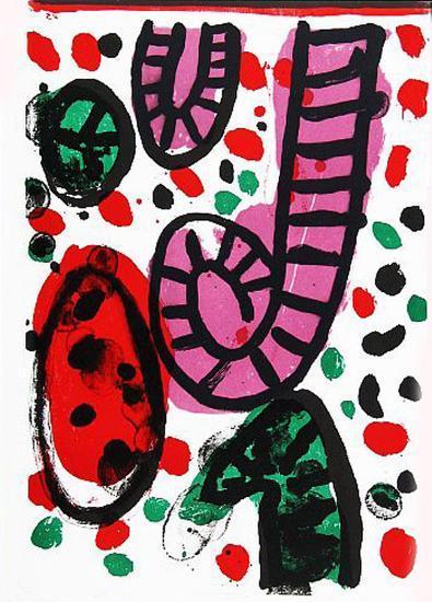 24: One Cent Life-Alan Davie-Art Print