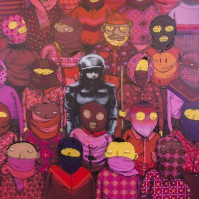 24th Street #1-Banksy-Giclee Print