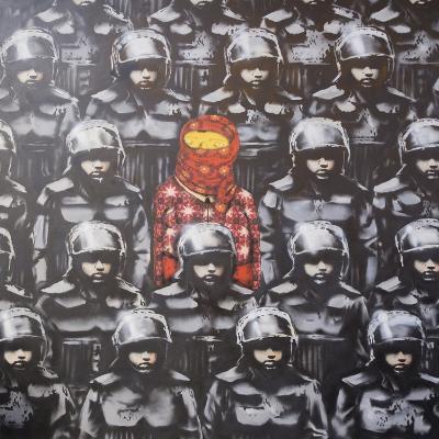 24th Street #2-Banksy-Giclee Print