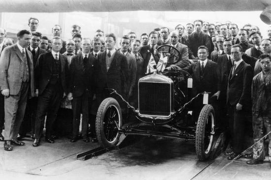 250,000th Model T Ford produced at Manchester, 1925-Unknown-Photographic Print