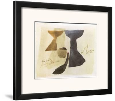 26.6.61 Moro, c.1961-Julius Bissier-Framed Art Print