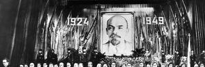 26 Soviet Leaders Gather in Moscow for the 25th Anniversary of Lenin's Death