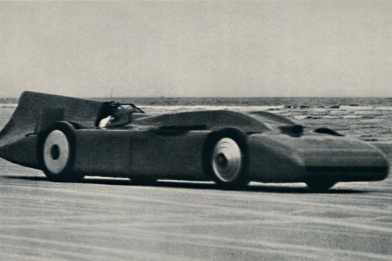 '276 miles an hour on the sands at Daytona', 1937-Unknown-Photographic Print