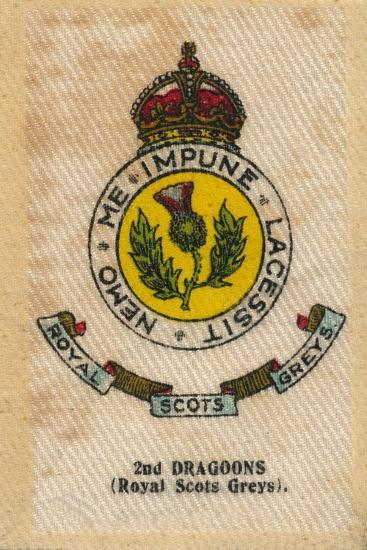 '2nd Dragoons (Royal Scots Greys)', c1910-Unknown-Giclee Print