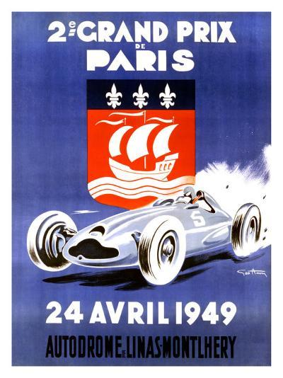 2nd Grand Prix de Paris-Geo Ham-Giclee Print