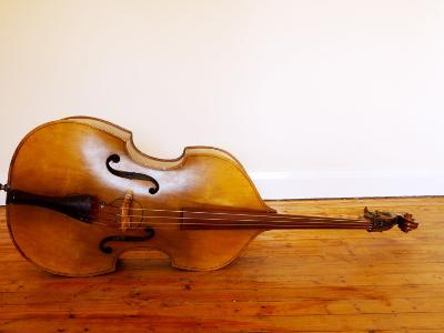 3/4 Size Double Bass-Oliver Strewe-Photographic Print