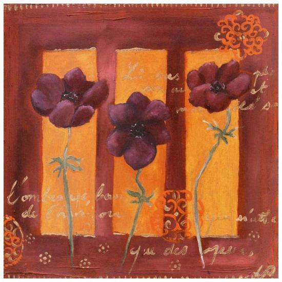 3 Anémones-Loetitia Pillault-Art Print
