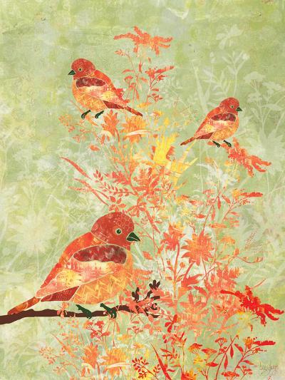 3 Birds in a Bush-Bee Sturgis-Art Print