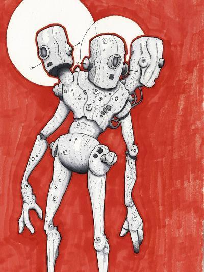 3 Bros Bots-Craig Snodgrass-Giclee Print