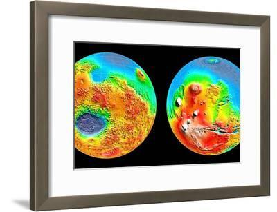3-D Topography of Mars