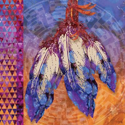 3 Feathers-Bee Sturgis-Art Print