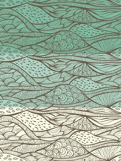 3 Funky Patterns-alexmakarova-Art Print