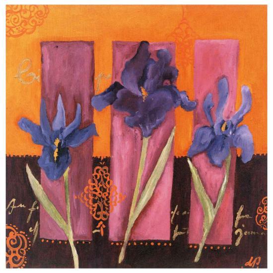 3 Iris-Loetitia Pillault-Art Print