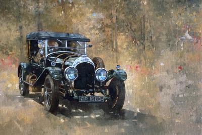 3 Litre Bentley at Cottesbrooke-Peter Miller-Giclee Print