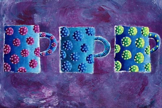3 Mugs, 2004-Julie Nicholls-Premium Giclee Print