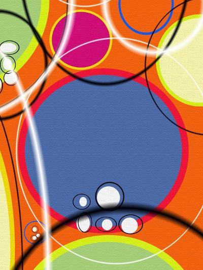 3 of 6 Abstract Art Retro Funk-Ricki Mountain-Art Print