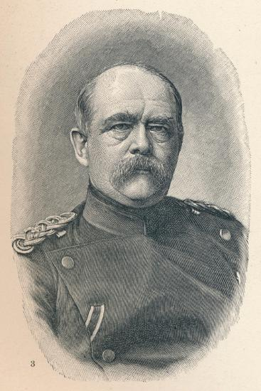 '3 - Otto Van Bismarck At Four Stages Of His Career', 1907-Unknown-Giclee Print