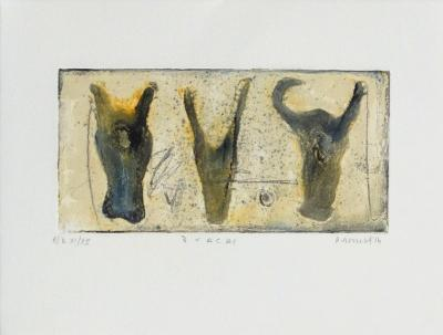 3 vacas-Alexis Gorodine-Limited Edition