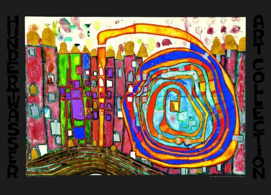 30.2-Friedensreich Hundertwasser-Art Print