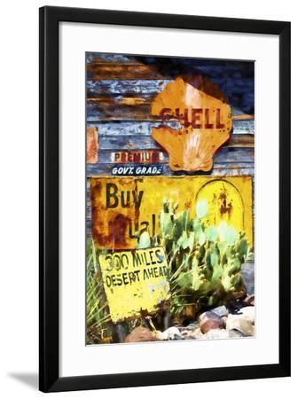 301 Miles Desert Ahead-Philippe Hugonnard-Framed Giclee Print