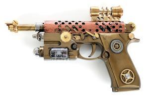 Steampunk Hand Cannon by 3355m